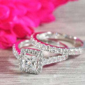 princess cut wedding ring
