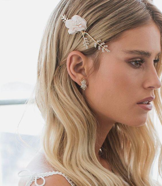 Diamond Studs Earrings for Brides Wedding