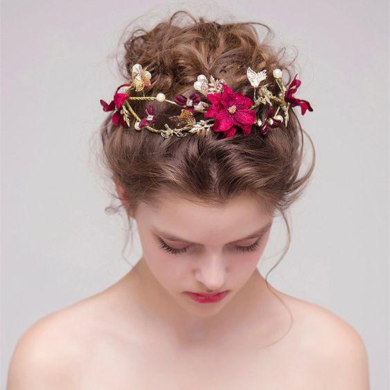 Fancy Wedding Tiara for Brides