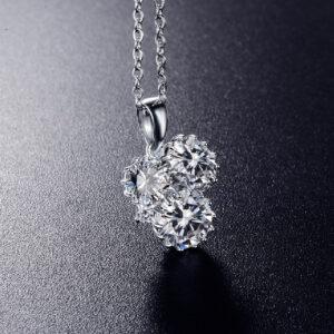 Diamond Three Stone Pendant
