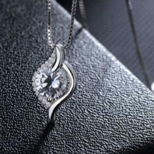 Diamond Halo Fancy Pendant