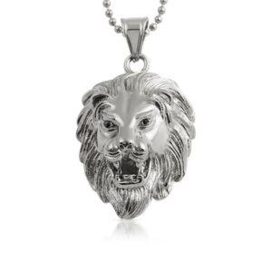 Lion Head Detailed Pendant