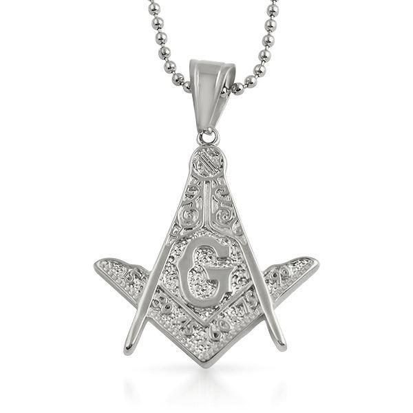 Masonic Detailed Medium Mason Pendant