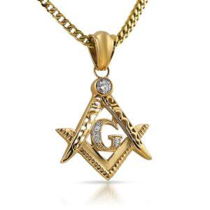 Masonic Symbol Mason Pendant