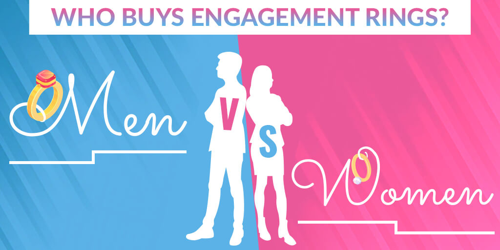 Who Buys Engagement Rings? Men or Women? – Gender Comparison in Engagement Ring Shopping.