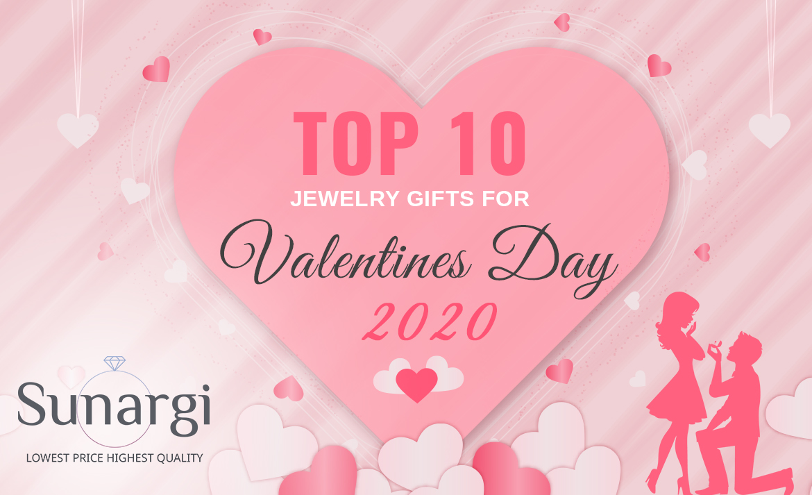 Top 10 Jewelry Gifts for Valentines Day 2020 - Gift Guide.