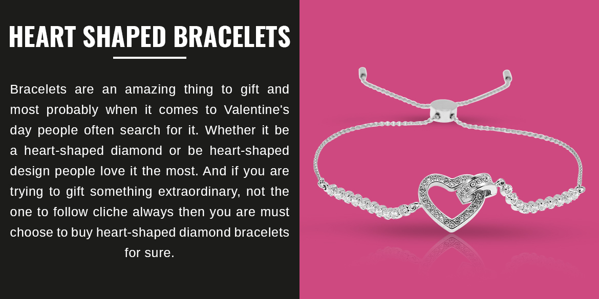 Heart-Shaped Bracelets