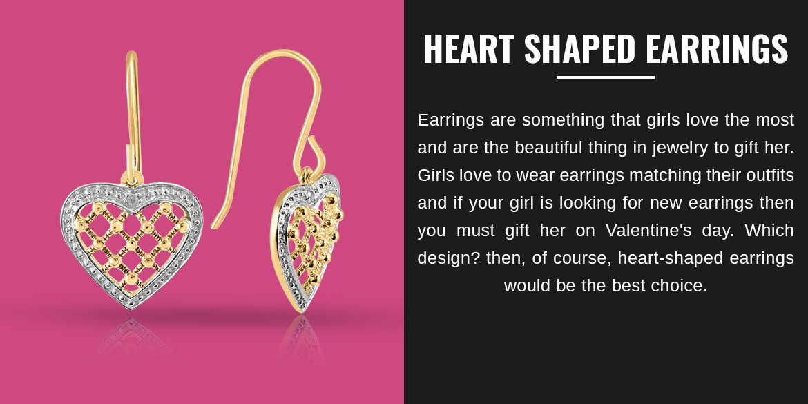 Heart-Shaped Earrings